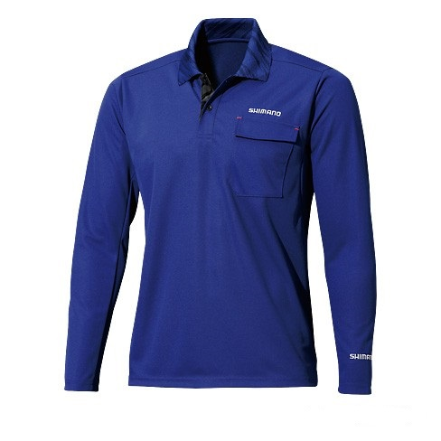 Футболка Shimano Polo Shirt (long sleeve) SH-093N